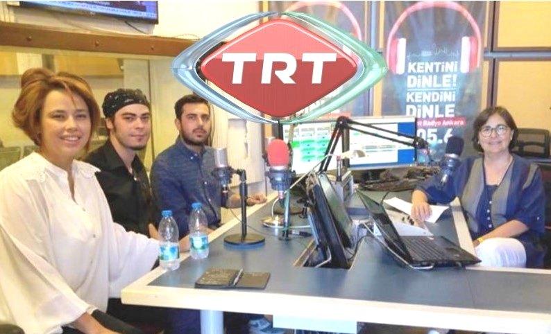 """""""TRT Kent Günlüğü Programı """" ve """"TRT Türkiye'nin Sesi """" Konuğu WB Kadrosu"""